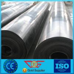 Cheap Virgin Material HDPE Pond / Dam / Pool Liner Black Pond Membrane Liner Roll for sale