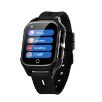 Cheap Elderly People Android 4G SOS GPS simcard slot smart watch Anti lost fall down alert smart watch for elderly people for sale