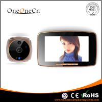 Cheap 5 Touch Screen Intelligent Wide Angle Peephole Door Viewer With MMS Alarm for sale