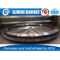 Case55 , CX135 excavator Slewing Bearing Internal Tooth used for longer life