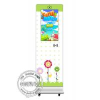 Cheap Kids Education Institution Touch Screen Kiosk 32 Inch Portable NFC Camera Logo Printing for sale