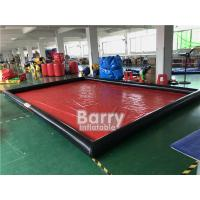 Cheap Airtight Cleaning Inflatable Car Wash Mat / Inflatable Water Containment Mat for sale