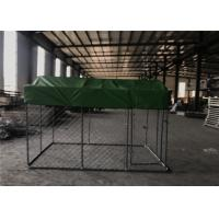 Buy cheap 6' wide x 8' long x 4' high Hurrican wire Dog Kennel Outer tubing 32mm 38mm wall thick 1.0mm wall thick from wholesalers