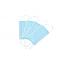 Cheap Anti Pollution Breathable Unisex Disposable Earloop Face Mask for sale