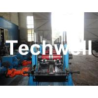 Cheap C Section Channel Roll Forming Machine with Gearbox Drive for Making Steel C Purlin for sale