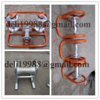 Cheap Cable roller, galvanized,Cable roller with ground plate,Cable Guides rollers for sale