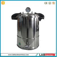 Cheap Test Autoclave Steam Sterilizer Accelerated Aging Chamber 18L Industrial Vertical 50-128 ℃ wholesale