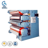 China Paper processing machinery paper sheet lamination machine calender machine on sale