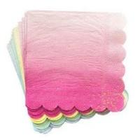 Cheap Party Napkins Unique Promotional Gifts For Decorating 33*33 CM Size for sale