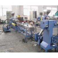 China Water Ring PET PE PP Plastic Granulator Machines with Single Screw Extruder on sale