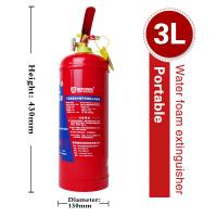 Cheap Portable Water Foam Extinguisher (3L) for sale