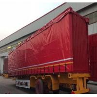 Cheap UV Protection Mesh Truck Tarps Flexible For Heavy Duty Truck 300-900gsm Weight for sale