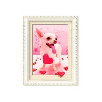 Cheap Colorful Amazing Animal 5D Pictures 12x17 Inches  0.6mm PET Material for sale