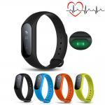 Cheap Low Power Consumption Smart Bluetooth Activity Bracelet 0.87 Inch Button / APP Control for sale