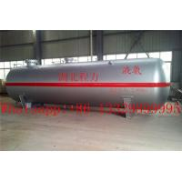 Cheap hot sale CLW brand 80 cubic meters liquefied petroleum gas storage tank, best price 80,000L surface lpg gas storage tank for sale