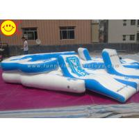 Cheap Giant Custom Inflatable Raft Party Boat Lake River 10 person Tropical Tahiti Floating Island for sale
