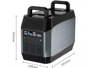 China 1000W 138Wh Portable Solar Power Station for outdoor activities on sale