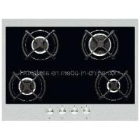 Cheap Printed Tempered Glass / Gas Hob on Black Glass (TX-0099) for sale