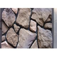 Cheap Scattered Artificial Rock Siding For Villas / Railway Station Steam - Cured wholesale