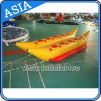 Cheap Water Games Inflatable Boats Double Tubes Flying Fish Inflatable Banana Boat wholesale