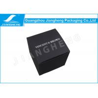 Cheap Black Card Paper Material Paper Gift Box For Cosmetic Or Personal Care Product for sale