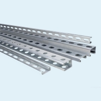 China High Quality U Beam Galvanized Steel Profile 40-100 Mm Hot Dipped Steel Channel Custom Length on sale