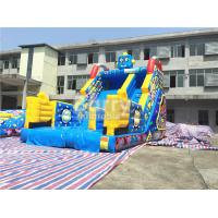 Cheap Children Small Robot Inflatable Dry Slide For Amusement Park / Rental Business for sale