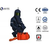 Cheap Industrial Protector PPE Safety Wear Fashionable Neckline Cuff Leg Opening Design for sale