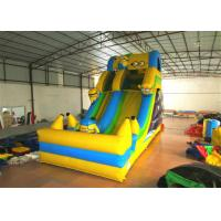 Cheap Hot sale digital printing inflatable the minions standard dry slide inflatable single dry slide for sale