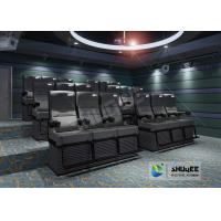 Cheap Entertainment 4D Cinema System Server Supportable & Motion Effects Easy Editable for sale