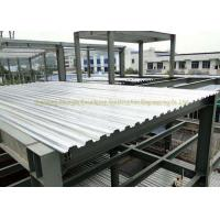Cheap AISI ASTM Corrugated Steel Floor Decking Sheet Steel Structure 0.5mm - 1.2mm for sale