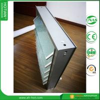 Quality Aluminum jalousie window with 6 panel louvers 5mm tempered frosted glass for sale