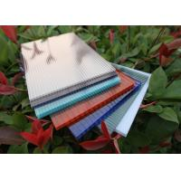 Cheap Multiwall Polycarbonate Roofing Sheets Construction Material Eco Friendly for sale