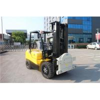 Cheap 2 / 3stage Mast Counterbalance Forklift Truck 3 Ton With Rotating Attachments for sale
