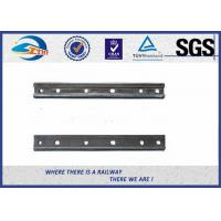 Cheap Plain Surface 6 Holes Rail Joint Bar Railroad Fish Plate For UIC60 UIC54 Steel Rail for sale