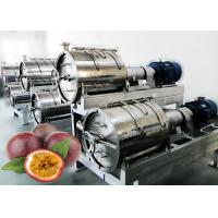 China 440V Voltage Fruit Processing Line Concentrated Juice Plant 10 T / H Capacity on sale