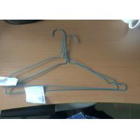 Cheap Household Plastic Coated Wire Coat Hangers Smooth Surface Laundry Clothes Hanger for sale