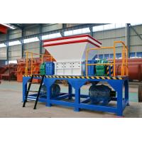 Cheap Capacity 1.6 tph Industrial Recycling Plastic Shredder from China for sale