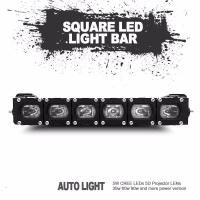 Cheap Christmas gift factory directly sale new square led light bar universal fitting for sale
