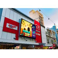 Quality SMD3535 Steel P8 Outdoor Led Screen Advertising Display IP65 6500 Nits wholesale