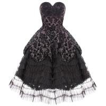 Cheap 50s Vintage Rockabilly Prom Sun Dress CS-B09 for sale