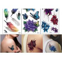 Cheap Body Art Temporary Tattoo Sticker Girl Decoration Butterfly Fake Tattoo wholesale