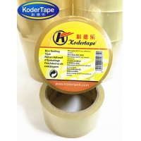 China Self Adhesion Bopp Film Length 66m Packing Adhesive Tape Coated Acrylic on sale