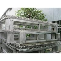 """Buy cheap Racking System Metal Pallet Containers With Wire Mesh Storage Boxes 47"""" * 39' from wholesalers"""