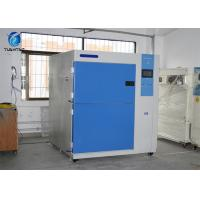 2 Zones 252 L Thermal Shock Test Chamber With Color Touch Panel Control System
