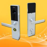 Cheap Touch Screen Biometric Lock Door Lock With Fingerprint Scanner , Voice Prompt for sale