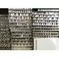 Cheap PVDF Coating Aluminum Honeycomb Board Mill Finished For Cladding Wall Decoration for sale