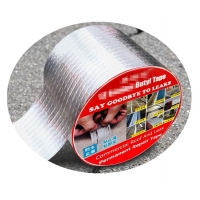 China Butyl Rubber Aluminium Foil Tape Say Goodbye To Leaks high strong adhesive on sale