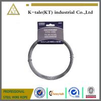 Cheap wholesale 7x19 8.0mm AISI304 Stainless Steel Towing Cable, Aircraft Cable for sale