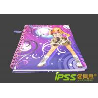 ... Cartoon Spiral Cardboard Notebooks with Full Color Printing wholesale